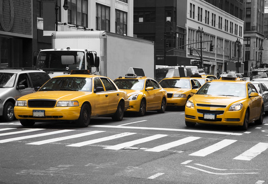 4 gule taxaer i new york